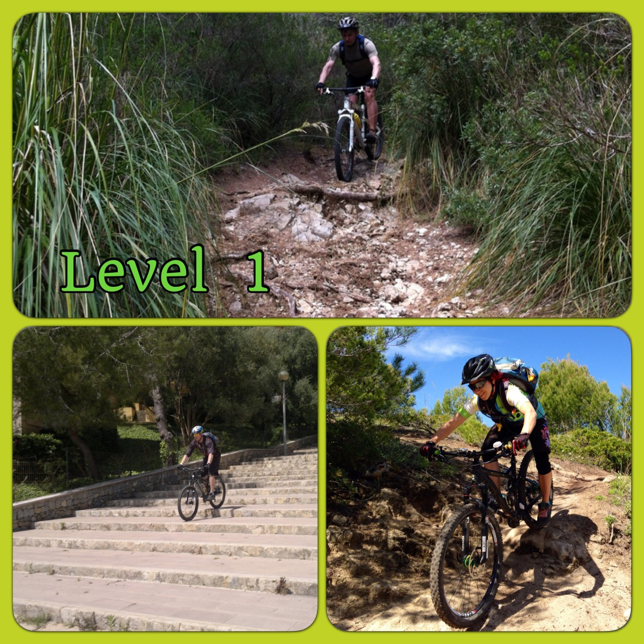 Level 1 MTB-Touren bei Roxybike