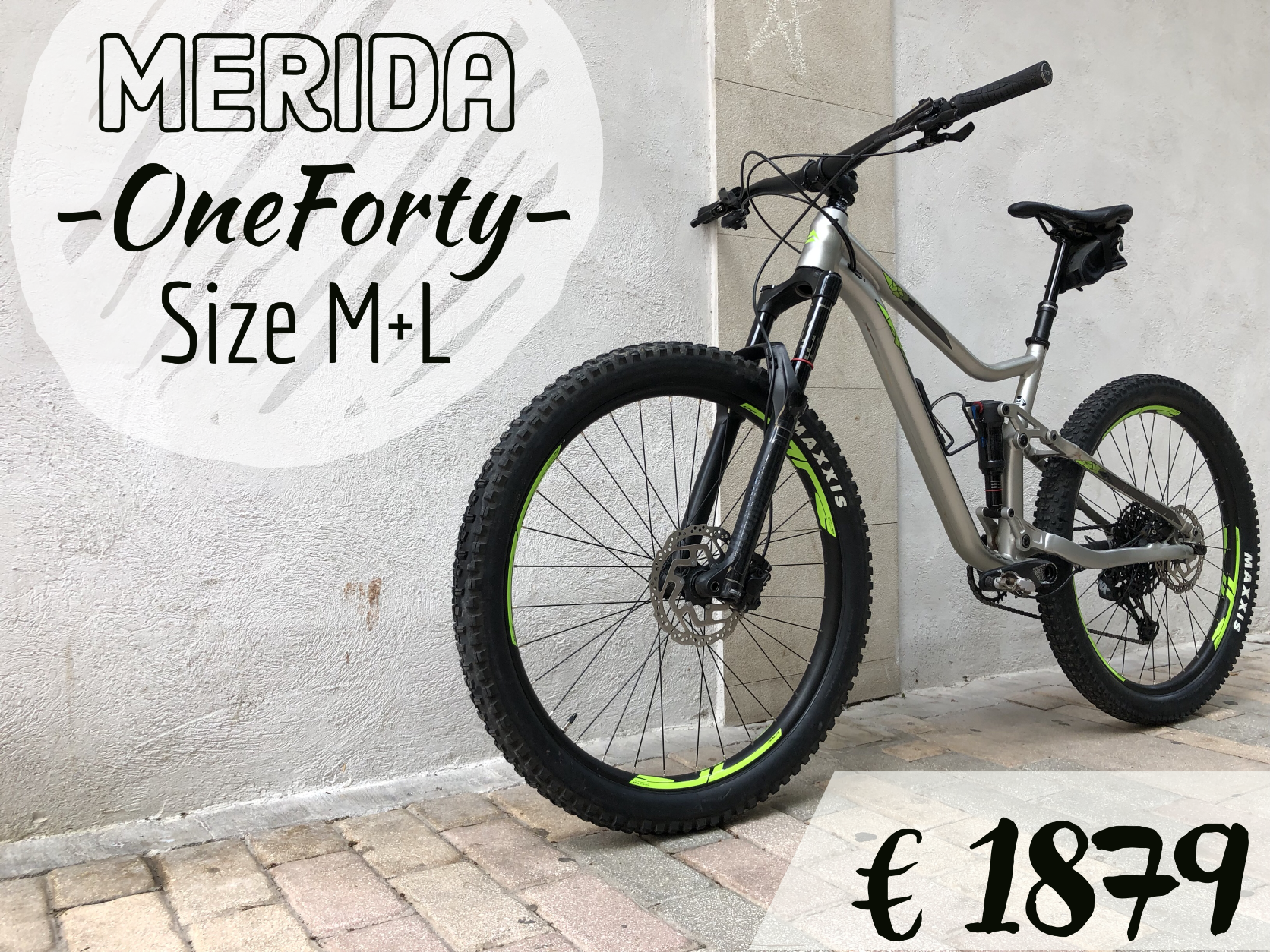 Second-Hand Bike Merida One-Forty Fully kaufen