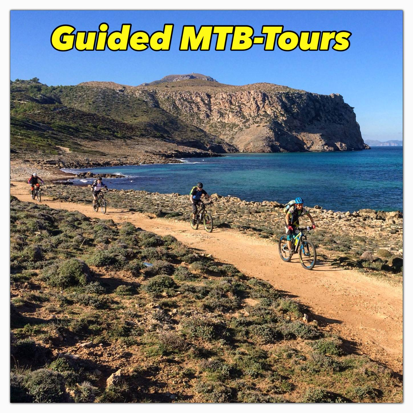 Guided MTB-Tours in Majorca