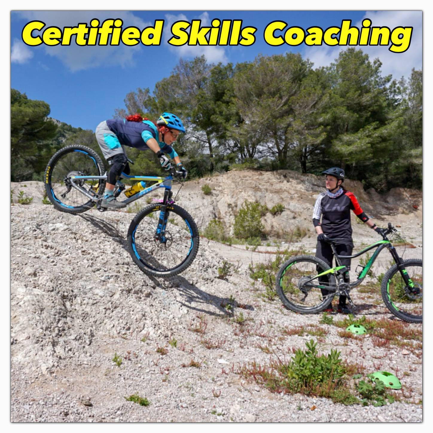 Roxybike is the only licenced and certified skills coaching institution in Mallorca!