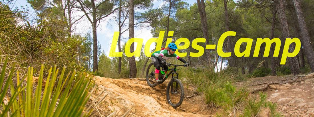 Ladies Camps Mountainbike Kurs für Frauen
